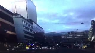 ليالي الغربة، عثمان حسين تصوير في استوكهولم-السويد