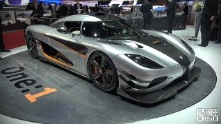 Koenigsegg One-1 2014 Videos