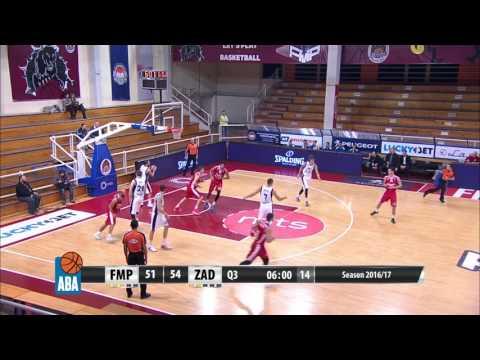 Filip Čović puts on a show - 17 points in 10 minutes (FMP - Zadar, 16.12.2016)