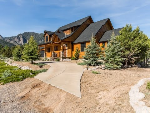 Mountain Valley Paradise: A Pine Valley, Utah Luxury Log Cabin Video Tour