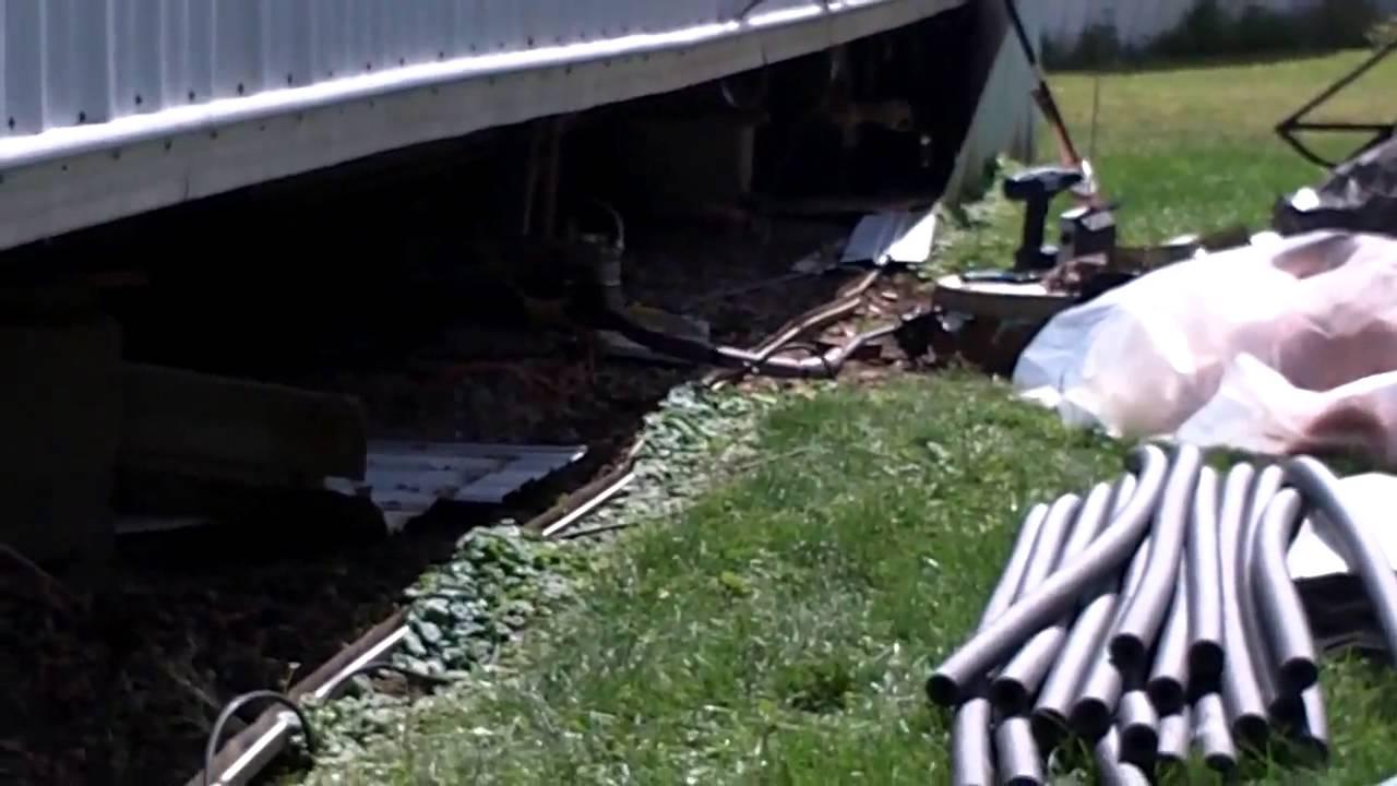 Insulating Crawl E Under Mobile Home Part 2