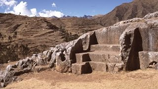 Exploring Megalithic Chinchero Near Cusco In Peru