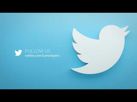 How to Follow Sameday Insurance Services, Inc. on Social Media
