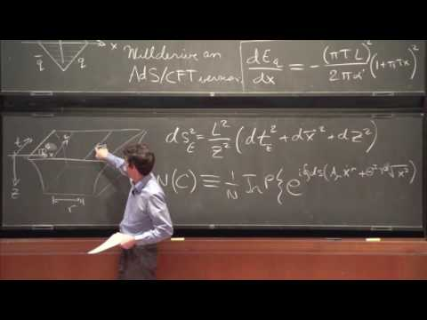 Applications of String Theory (1 of 3) - Steven Gubser