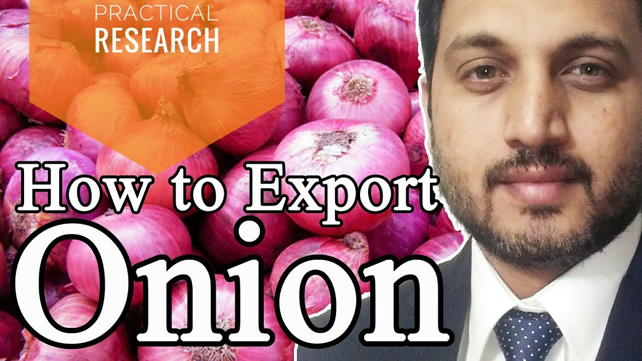 How to export onion from India to any country