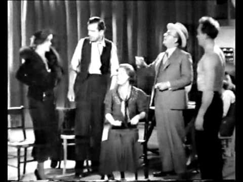 "Gracie Fields in an Apache Dance - ""Queen Of Hearts"" 1934"