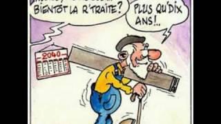 PARODIE. la retraite chantée par Yves Montand ! MDR