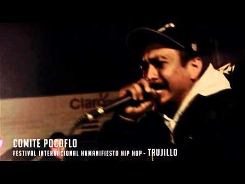 COMITÉ POKOFLÓ en el Festival Internacional Humanifiesto Hip Hop (TRUJILLO)