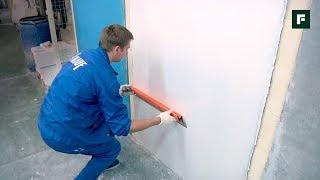 видео Оштукатуривание стен дома своими руками