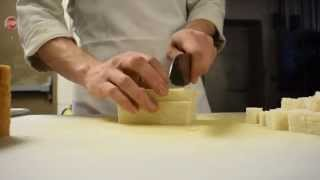 Preparing Salad Crutons