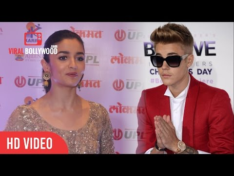 Alia Bhatt On Performing With Justin Bieber in India | Justin Bieber Visiting Mumbai On May 10