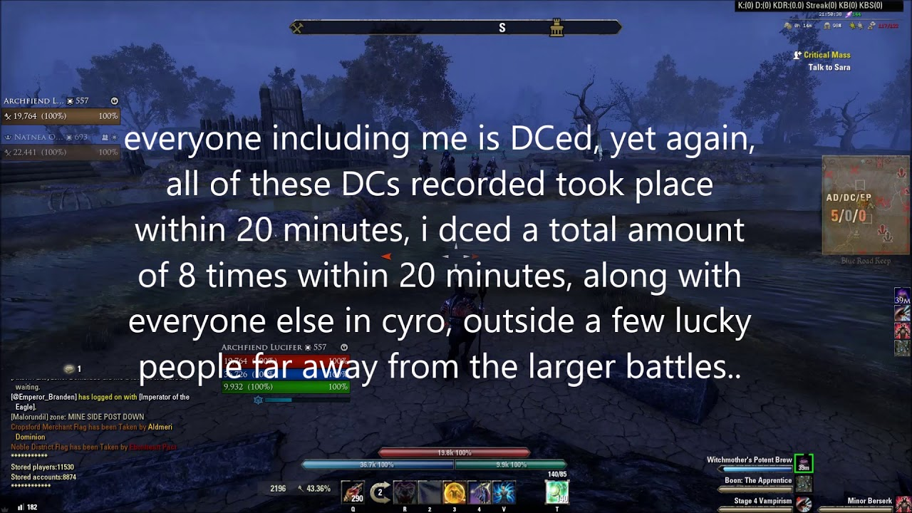 The current status of PVP in ESO (Issues/BAD)