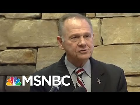 Will Roy Moore's Misconduct Allegations Sway Evangelicals? | AM Joy | MSNBC