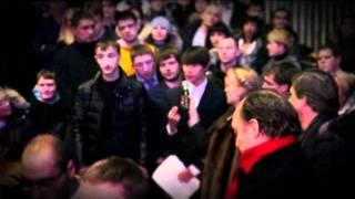 Предвыборный ТВ ролик. Прохоров в Новосибирске.