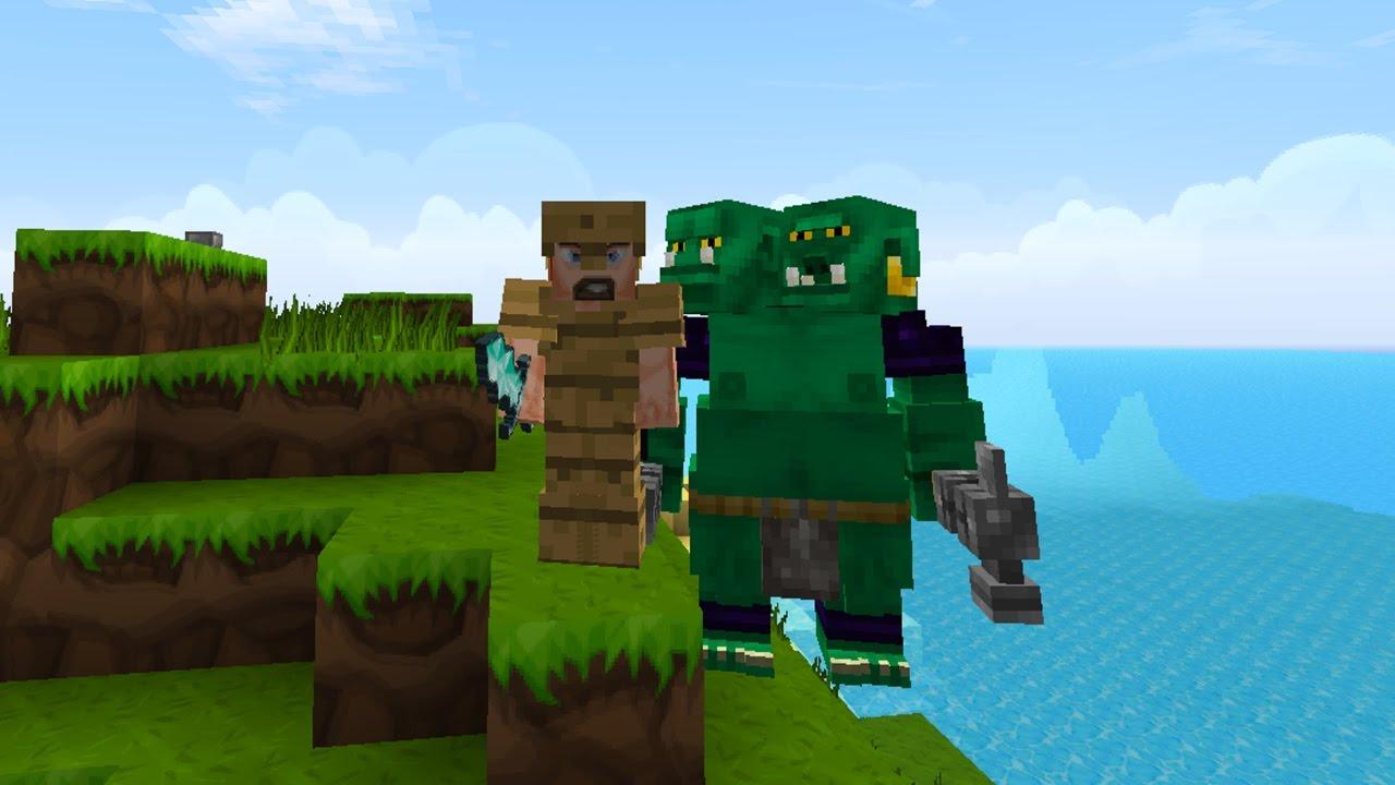 BỨC TƯỢNG NGƯỜI CHẾT? – Minecraft : Thảm Họa Diệt Vong #1