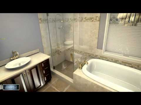 Neezo Renders Property Brothers Season 1 Bathroom 01 Youtube