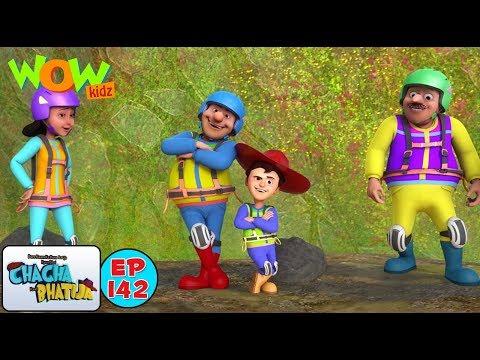 Rock Climbing - Chacha Bhatija - 3D Animation Cartoon for Kids - As seen on Hungama