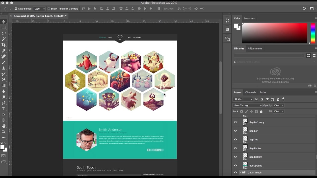 How To Convert Your Psd Template Into An Adobe Muse