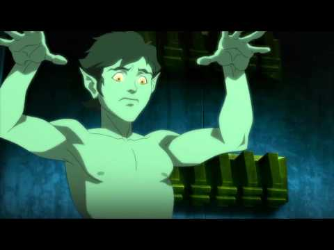 Beast Boy Sleeps Nude: Justice League vs. Teen Titans
