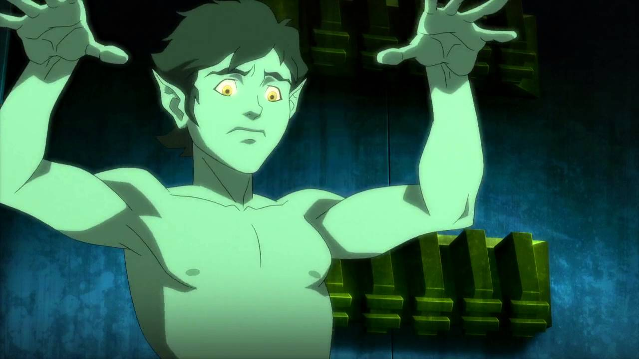 Beast Boy Sleeps Nude: Justice League vs  Teen Titans