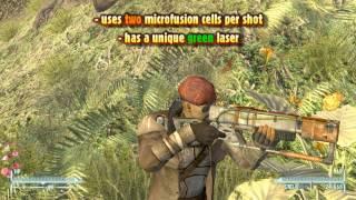 Fallout: NV - AER14 Prototype (Unique Laser Rifle)