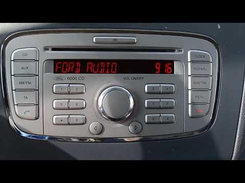 Ford radio unlock code v series fordcode.co.uk