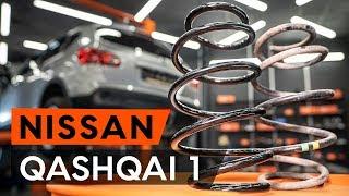 Kaip pakeisti Spyruoklės NISSAN QASHQAI / QASHQAI +2 (J10, JJ10) - vaizdo vadovas