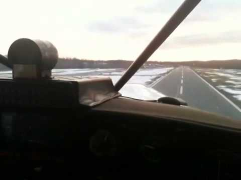 Maule takeoff Dutchess County Airport