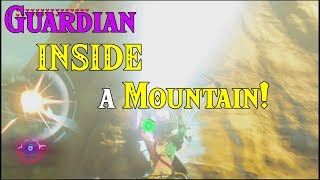 Guardian INSIDE a Mountain! Getting The Last Guardian Stuck in Zelda Breath of the Wild DLC