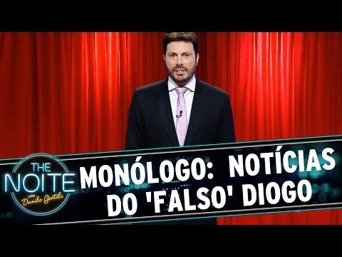 The Noite (10/09/15) - Monólogo: Mais Notícias Do 'falso' Diogo Nogueira