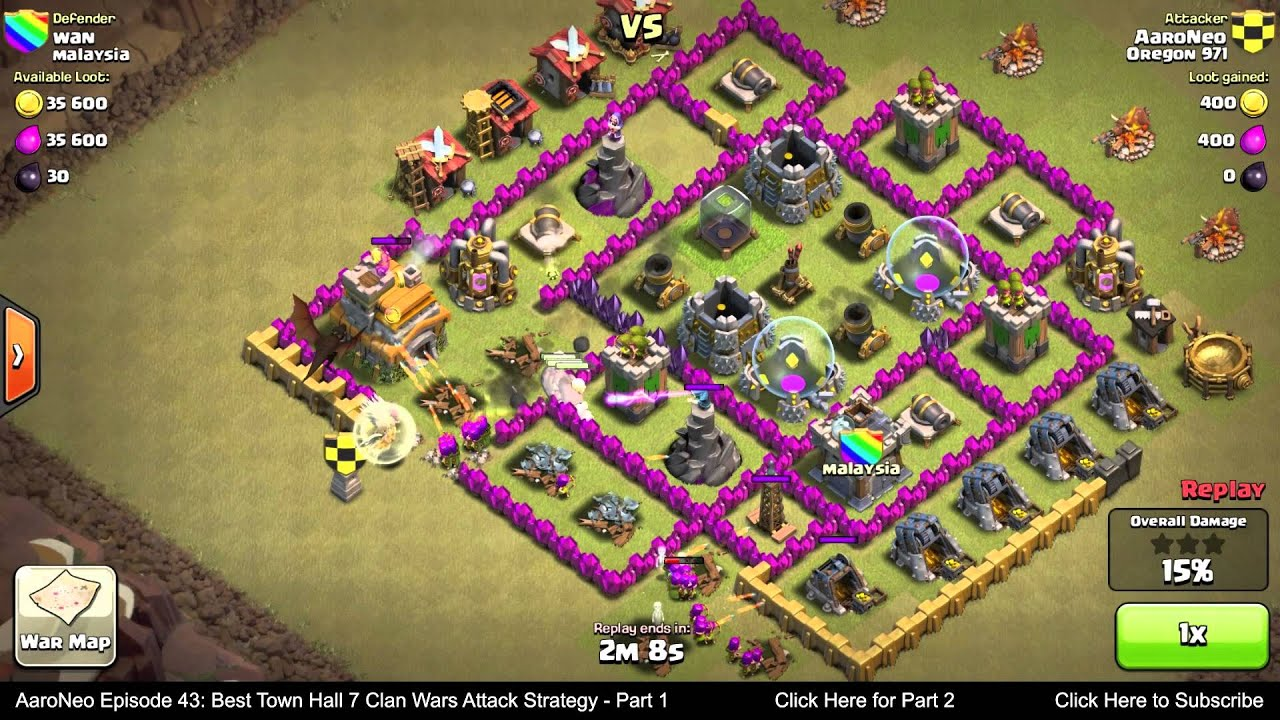 Clash Of Clans Defense Wn Hall Level