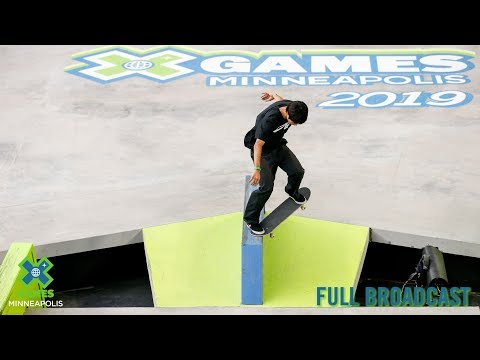 Men's Skateboard Street: FULL BROADCAST | X Games Minneapolis 2019