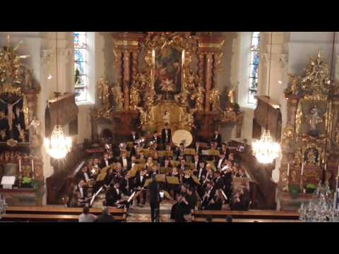 Irish Youth Wind Ensemble Ennstal church concert Schladming Austria 2017