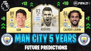 THIS IS HOW MANCHESTER CITY WILL LOOK IN 5 YEARS😱 Feat. Son🇰🇷 And Aguero🇦🇷