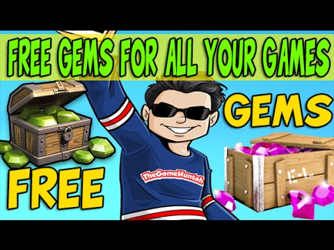 GET FREE Gems for your iOS and Android Games!