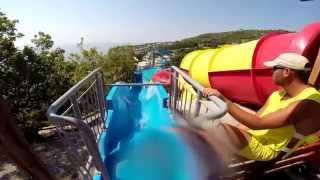 Аквапарк ''Голубой Залив''(, 2014-08-15T11:13:15.000Z)