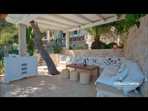 Luxury Villas Croatia (2018) - Luxury Holiday Villa Hvar, private beach, boat dock