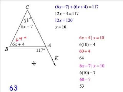 Ch3 Sections 3 And 4 Worksheet On Parallel Lines And