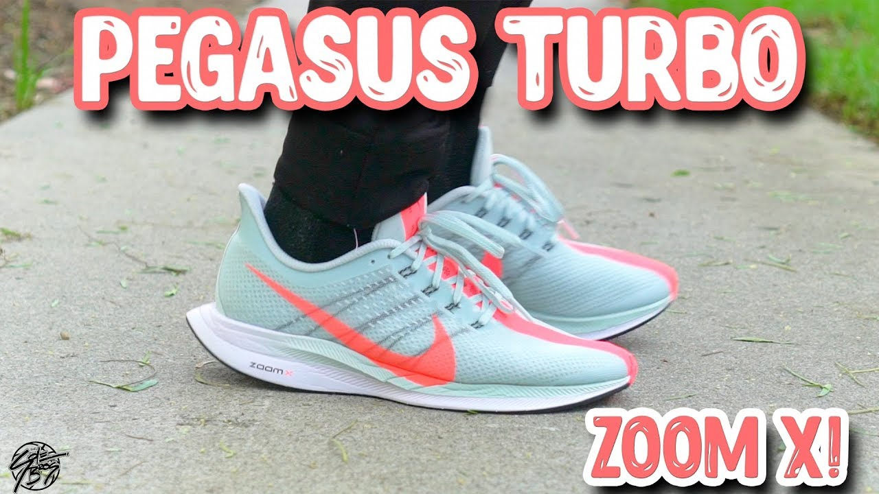 df3f5015064db Nike Zoom Pegasus Turbo Review! ZoomX Comfy   - YouTube