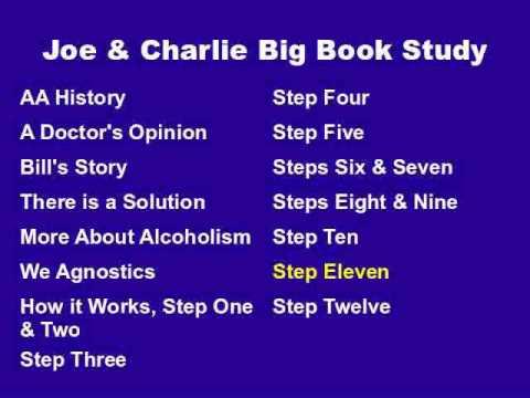 Joe & Charlie Big Book Study Part 14 - Step Eleven