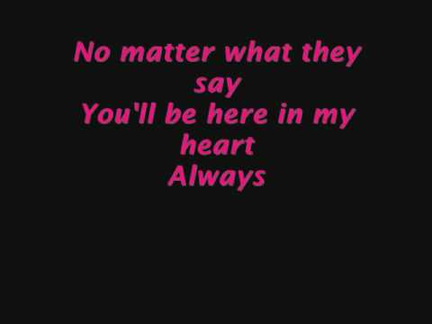 my heart will be_Phill Collins - Youll Be In My Heart (Lyrics) - YouTube