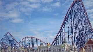 Blackpool Pleasure Beach Vlog - February 2015