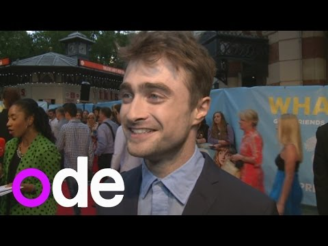 What If premiere: Daniel Radcliffe reveals the most romantic thing he's done for his girlfriend
