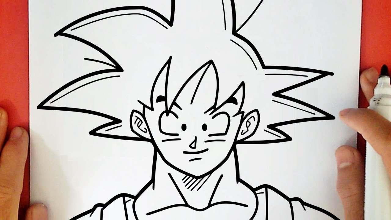 Comment Dessiner Goku Youtube
