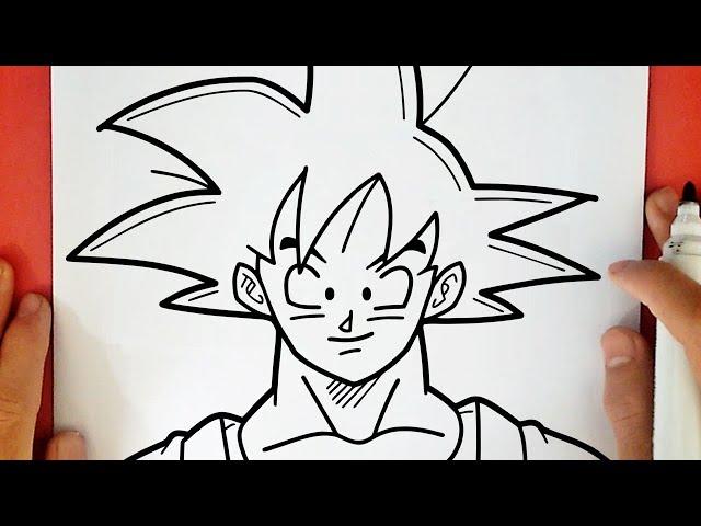 Video Comment Dessiner Goku