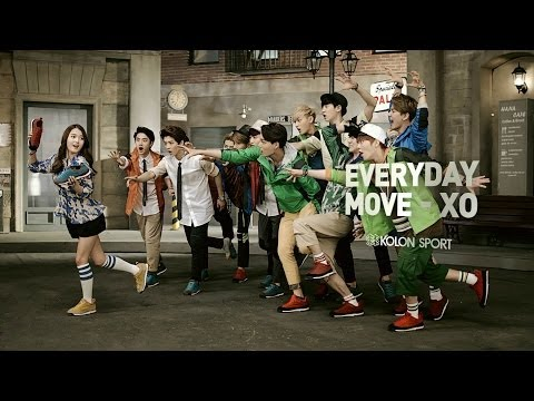 코오롱스포츠 엑소의 무브 XO | KOLON SPORT EXO'S MOVE-XO (Full Version)
