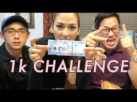 1000peso Challenge by Alex Gonzaga