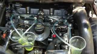 test injecteur 307 hdi 110  ch (retour de debit)
