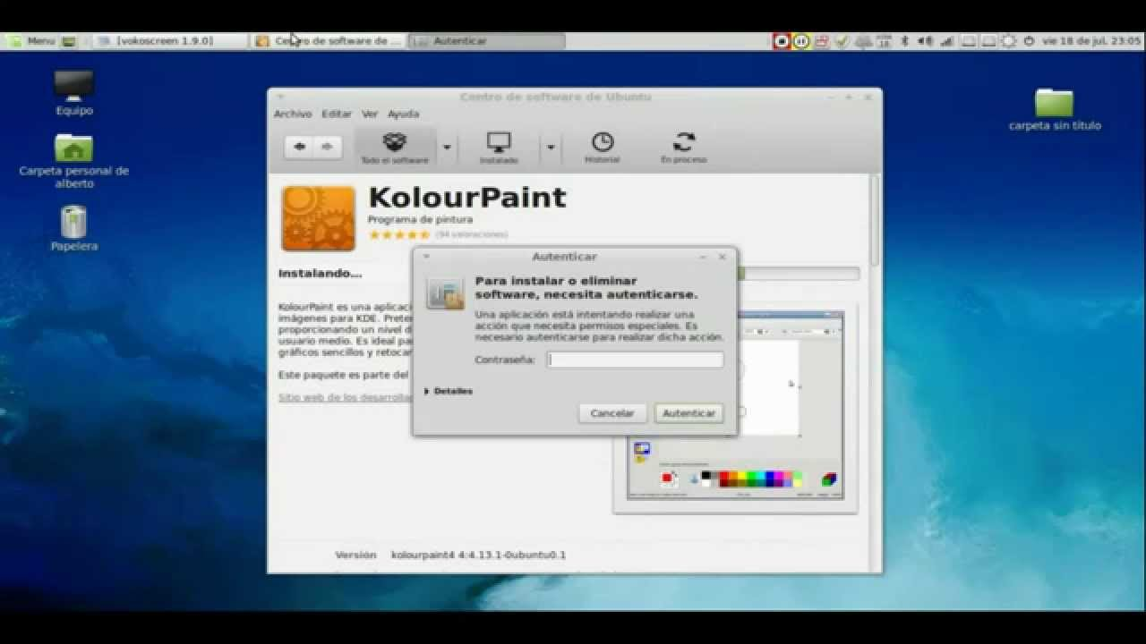Alternativa a paint en linux kolourpaint youtube Paint for linux