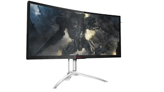 aoc releases agon ag322qcx ag272fcx gaming monitors with frameless design launched in may 2017